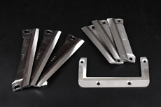 Blades for agricultural equipment
